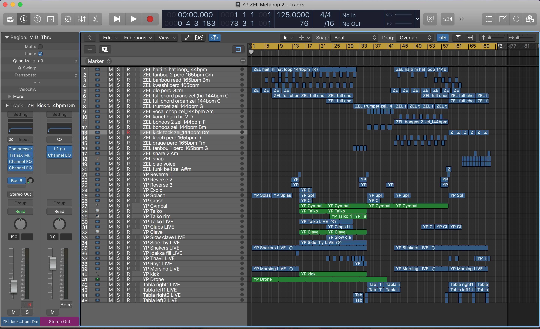 Producer Competition: Michael Brun - Zel | metapop